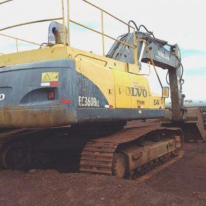 Escavadeira Hidráulica EC360DL